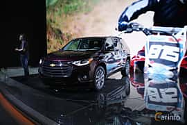 Front/Side  of Chevrolet Traverse 2017 at North American International Auto Show 2017