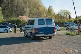 Back/Side of Chevrolet Van SWB 7.4 V8 Automatic, 214ps, 1992 at Lissma Classic Car 2019 vecka 20