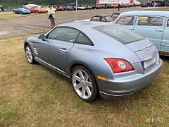 Back/Side of Chrysler Crossfire 3.2 V6 Automatic, 218ps, 2005 at Svenskt sportvagnsmeeting 2019