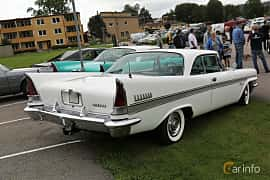 Back/Side of Chrysler New Yorker 2-door Hardtop 6.4 V8 TorqueFlite, 330ps, 1957