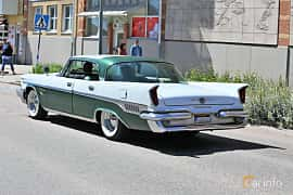 Back/Side of Chrysler New Yorker 4-door Hardtop 6.8 V8 Automatic, 355ps, 1959 at Cruising Lysekil 2019