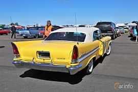Back/Side of Chrysler New Yorker Convertible 6.4 V8 TorqueFlite, 330ps, 1957 at Lidköping Power Big Meet  2019