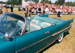 Close-up of Chrysler New Yorker Convertible 6.4 V8 Automatic, 349ps, 1958