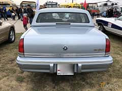 Back of Chrysler New Yorker Fifth Avenue 3.8 V6 Automatic, 152ps, 1992 at Old Car Land no.2 2019
