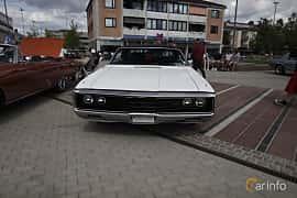 Front  of Chrysler Newport 2-door Hardtop 6.3 V8 TorqueFlite, 254ps, 1971 at Riksettanrallyt 2017