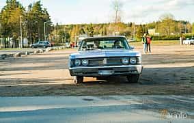 Front  of Chrysler Newport 2-door Hardtop 6.3 V8 TorqueFlite, 274ps, 1967 at Wheelers Cruising, Vetlanda 2019