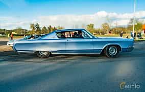 Side  of Chrysler Newport 2-door Hardtop 6.3 V8 TorqueFlite, 274ps, 1967 at Wheelers Cruising, Vetlanda 2019