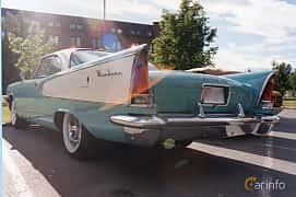 Back/Side of Chrysler Windsor 2-door Hardtop 5.8 V8 TorqueFlite, 294ps, 1958