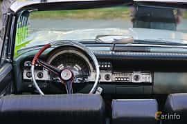 Interior of Chrysler Windsor Convertible 6.3 V8 TorqueFlite, 309ps, 1960 at Onsdagsträffar på Gammlia Umeå 2019 vecka 30