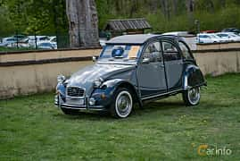 Front/Side  of Citroën 2CV 0.6 Manual, 29ps, 1987 at Fest För Franska Fordon  på Taxinge slott 2019