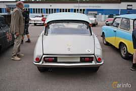 Back of Citroën DS 19 1.9 Manual, 75ps, 1960 at Motorhistoriska dagen i Bjärnum 2018