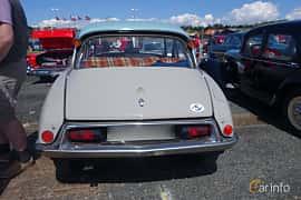 Back of Citroën DS 19 1.9 Manual, 75ps, 1960 at Riksettanrallyt 2015