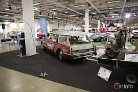 Back/Side of Citroën DS 20 Sedan 2.0 Manual, 99ps, 1973 at Bilsport Performance & Custom Motor Show 2019