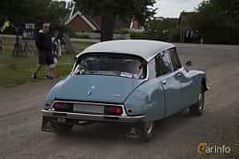 Back/Side of Citroën DS 20 Sedan 2.0 Manual, 99ps, 1973 at Tisdagsträffarna Vikingatider v.25 / 2017