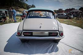 Back of Citroën DS 19 1.9 Manual, 75ps, 1960 at Thulinträffen 2015