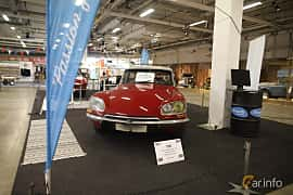 Front/Side  of Citroën DS 20 Sedan 2.0 Manual, 99ps, 1973 at Bilsport Performance & Custom Motor Show 2019