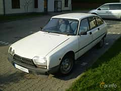 Front/Side  of Citroën GSA 1.3 Manual, 65ps, 1981