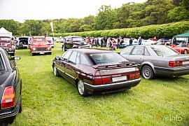 Back/Side of Citroën XM 2.0 Automatic, 121ps, 1992 at Tjolöholm Classic Motor 2016