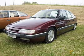 Front/Side  of Citroën XM 2.0 Automatic, 121ps, 1992 at Thulinträffen 2015