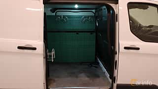 Close-up of Ford Transit Custom 3-door Van 2.2 TDCi Manual, 125ps, 2014