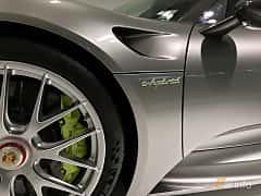 Närbild av Porsche 918 Spyder 4.6 V8 + 6.8 kWh PDK, 887ps, 2014