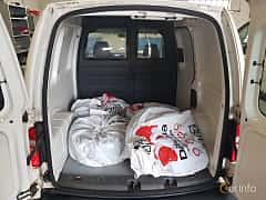 Close-up of Volkswagen Caddy Panel Van 2.0 EcoFuel Manual, 109ps, 2011