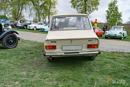 Back of DAF 66 Sedan 1.1 Variomatic, 54ps, 1975 at Fest För Franska Fordon  på Taxinge slott 2019
