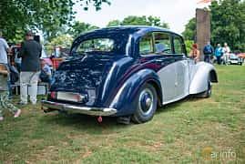 Bak/Sida av Daimler Consort Saloon 2.5 Manual, 71ps, 1952 på Sofiero Classic 2018