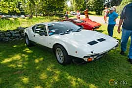 Front/Side  of De Tomaso Pantera GTS 5.8 V8 Manual, 270ps, 1975 at Sportbilsklassiker Stockamöllan 2019