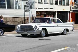 Front/Side  of DeSoto Adventurer 2-door Hardtop 5.9 V8 Automatic, 269ps, 1961 at Cruising Lysekil 2019