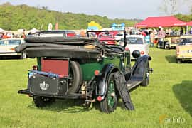 Bak/Sida av Dodge 126 Touring 3.5 Manual, 35ps, 1926 på Tjolöholm Classic Motor 2019