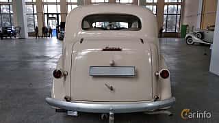 Back of Dodge Beauty Winner 4-door Touring Sedan 3.6 Manual, 87ps, 1936 at Old Car Land no.2 2018