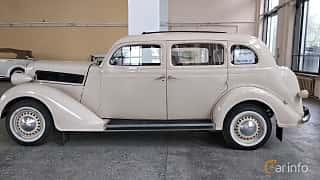 Side  of Dodge Beauty Winner 4-door Touring Sedan 3.6 Manual, 87ps, 1936 at Old Car Land no.2 2018
