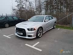 Front/Side of Dodge Charger SRT-8 6.4 V8 HEMI TorqueFlite, 476ps, 2012