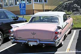 Back/Side of Dodge Coronet Lancer Convertible 6.3 V8 TorqueFlite, 349ps, 1959 at Cruising Lysekil 2019