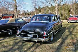 Bak/Sida av Dodge Coronet Club Coupé 3.8 Manual, 105ps, 1950 på Uddevalla Veteranbilsmarknad Backamo, Ljungsk 2019