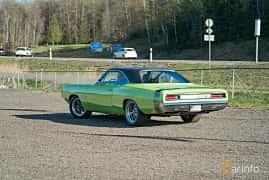 Back/Side of Dodge Coronet Super Bee Hardtop 6.3 V8 TorqueFlite, 340ps, 1970 at Lissma Classic Car 2019 vecka 20