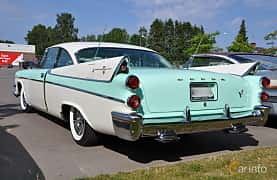 Back/Side of Dodge Coronet Lancer 2-door 5.3 V8 TorqueFlite, 314ps, 1957 at Power America Fest, Nossebro 2016