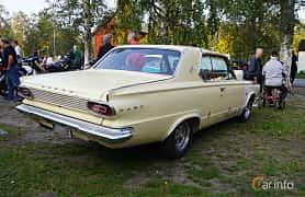 Back/Side of Dodge Dart GT 2-door Hardtop 4.5 V8 TorqueFlite, 182ps, 1965 at Onsdagsträffar på Gammlia Umeå 2019 vecka 35
