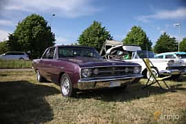 Fram/Sida av Dodge Dart GT 2-door Hardtop 4.5 V8 TorqueFlite, 193ps, 1969 på Tisdagsträffarna Vikingatider v.21 / 2018