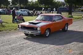 Front/Side  of Dodge Dart 360 Sport 5.9 V8 TorqueFlite, 250ps, 1974 at Tisdagsträffarna Vikingatider v.25 / 2017