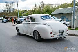 Back/Side of Dodge Luxury Liner Club Coupé 3.6 Manual, 91ps, 1941 at Vårcruising Järna 2019