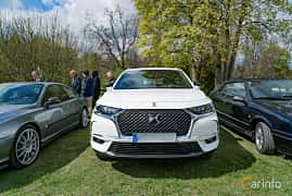 Front  of DS 7 Crossback 1.6 THP EAT, 180ps, 2018 at Fest För Franska Fordon  på Taxinge slott 2019