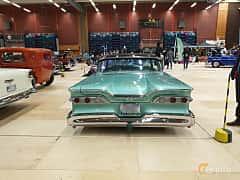 Back of Edsel Ranger 2-door Hardtop 5.9 V8 Automatic, 307ps, 1959 at Gasonline Mega Swapmeet Katrineholm  2019 Mars