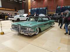Front/Side  of Edsel Ranger 2-door Hardtop 5.9 V8 Automatic, 307ps, 1959 at Gasonline Mega Swapmeet Katrineholm  2019 Mars