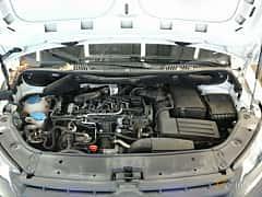 Engine compartment  of Volkswagen Caddy Panel Van 1.6 TDI DSG Sequential, 102ps, 2012