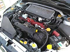 Engine compartment  of Subaru WRX STi Sedan 2.5 4WD Manual, 300ps, 2007 at Ltava Time Attack 1st Stage