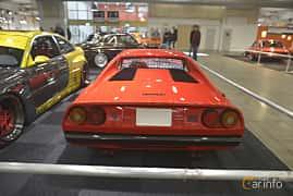 Back of Ferrari 308 GTB 2.9 V8 Manual, 255ps, 1975 at Bilsport Performance & Custom Motor Show 2019