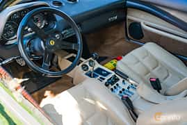 Interior of Ferrari 308 GTBi Quattrovalvole 2.9 V8 Manual, 240ps, 1982 at Sportbilsklassiker Stockamöllan 2019