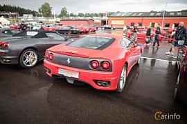 Back/Side of Ferrari 360 Modena 3.6 V8 Manual, 400ps, 2001 at Autoropa Racing day Knutstorp 2015